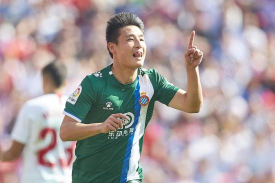 Chinese football star Wu Lei recovers from COVID-19