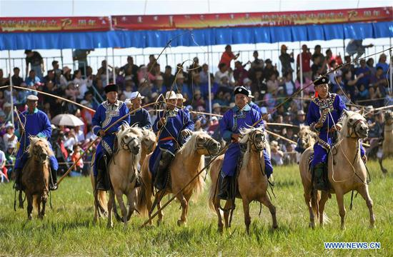 Nadam fair held in China's Inner Mongolia