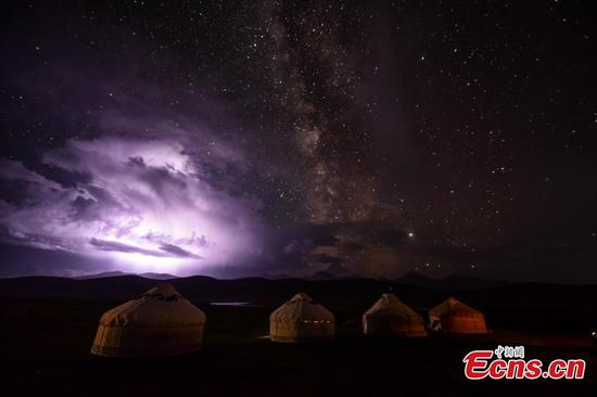 Xinjiang's Bayingol a best place for summer stargazing