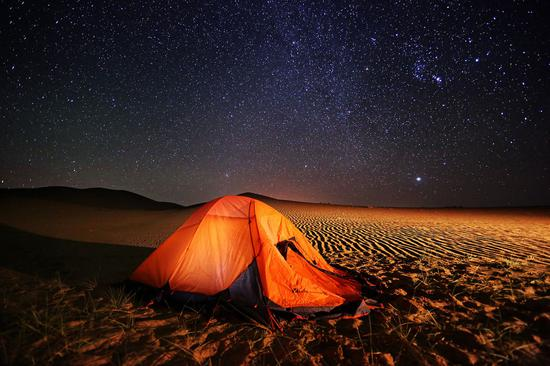 Kubuqi Desert amazes in summer