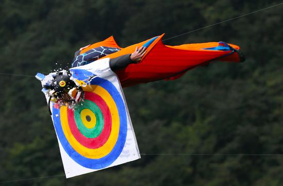 Flyers compete on wings in Hunan