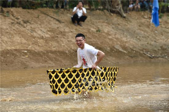 Fun abounds at Chongqing agricultural festival
