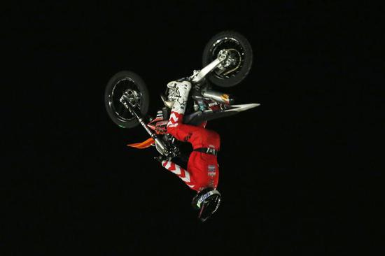 Mountain Dew Moto-Extreme stunt show in Islamabad, Pakistan
