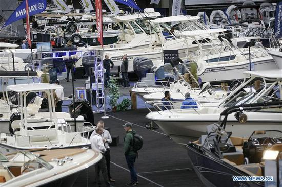 Vancouver International Boat Show held in Canada