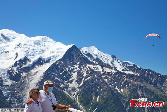 Mont-Blanc mountain in France reopened to tourists